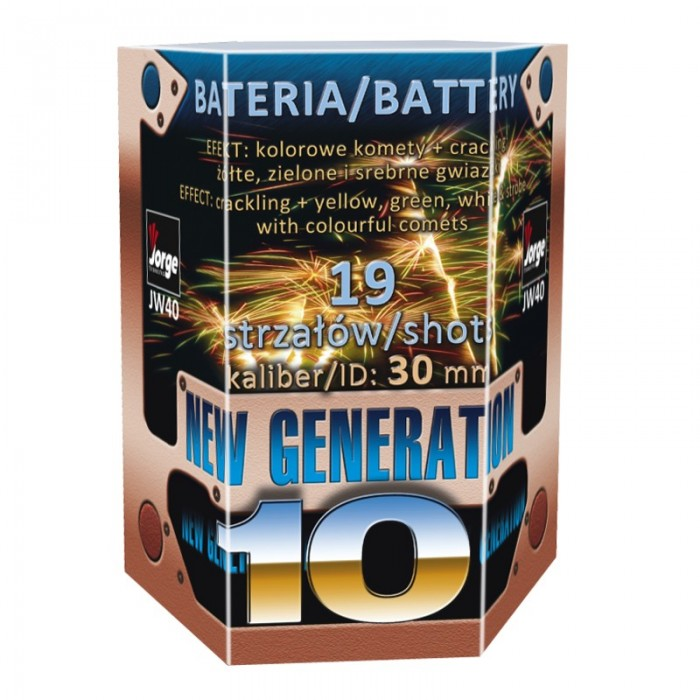 NEW GENERATION 10 - JW40