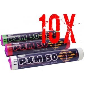 SET OF 10 SMOKES PXM30