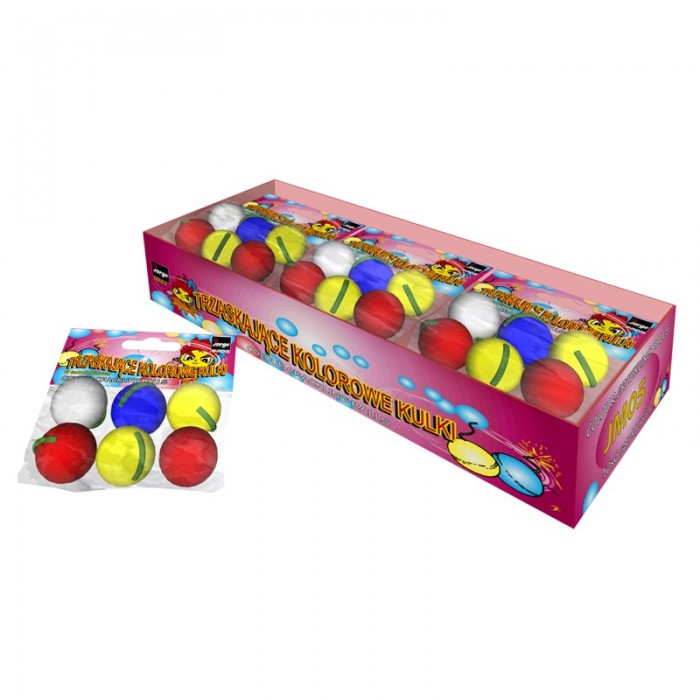 COLOR CRACKLING BALLS – JM05