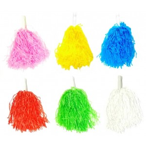 CHEERLEADERS POMPONS