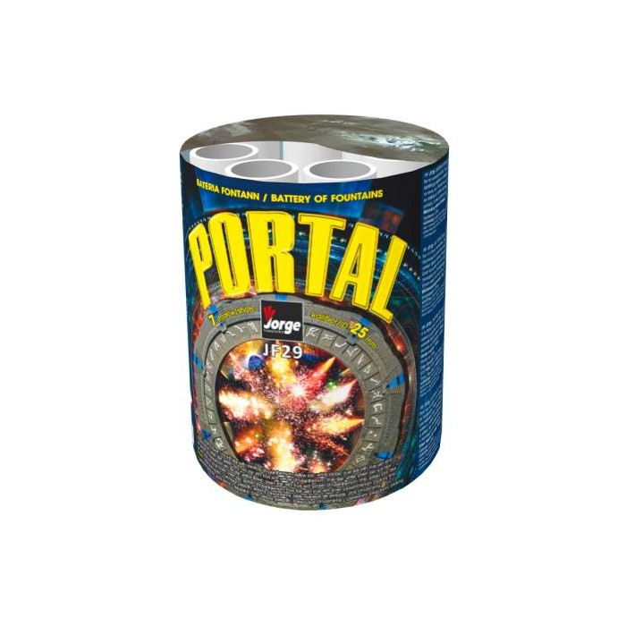 PORTAL WYRZUTNIA FONTANN 8M