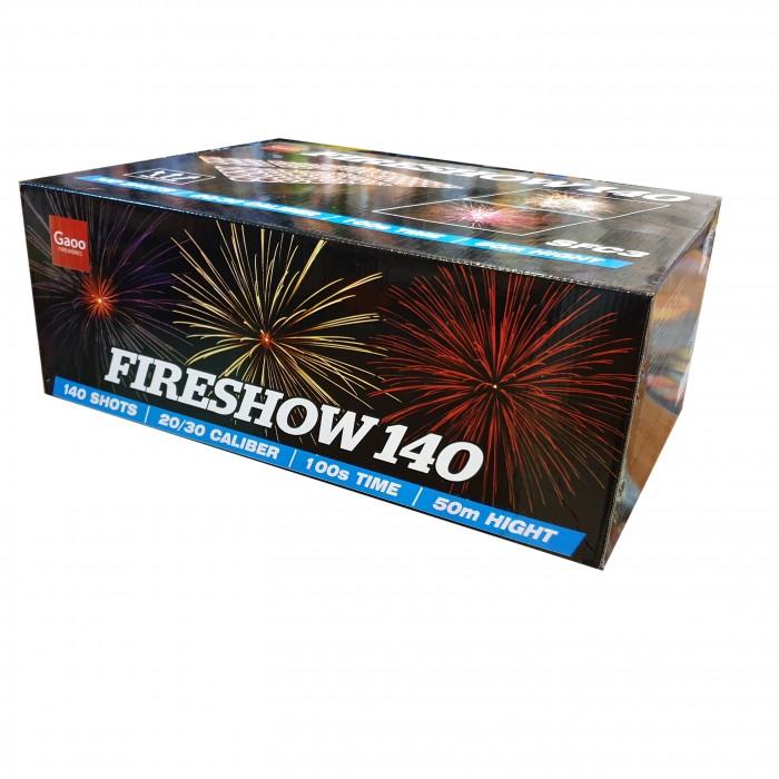 POKAZ FIRESHOW 140 STRZAŁÓW MIX