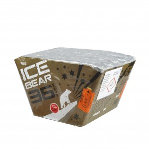 ICE BEAR GREEN 36 STRZAŁÓW 25MM