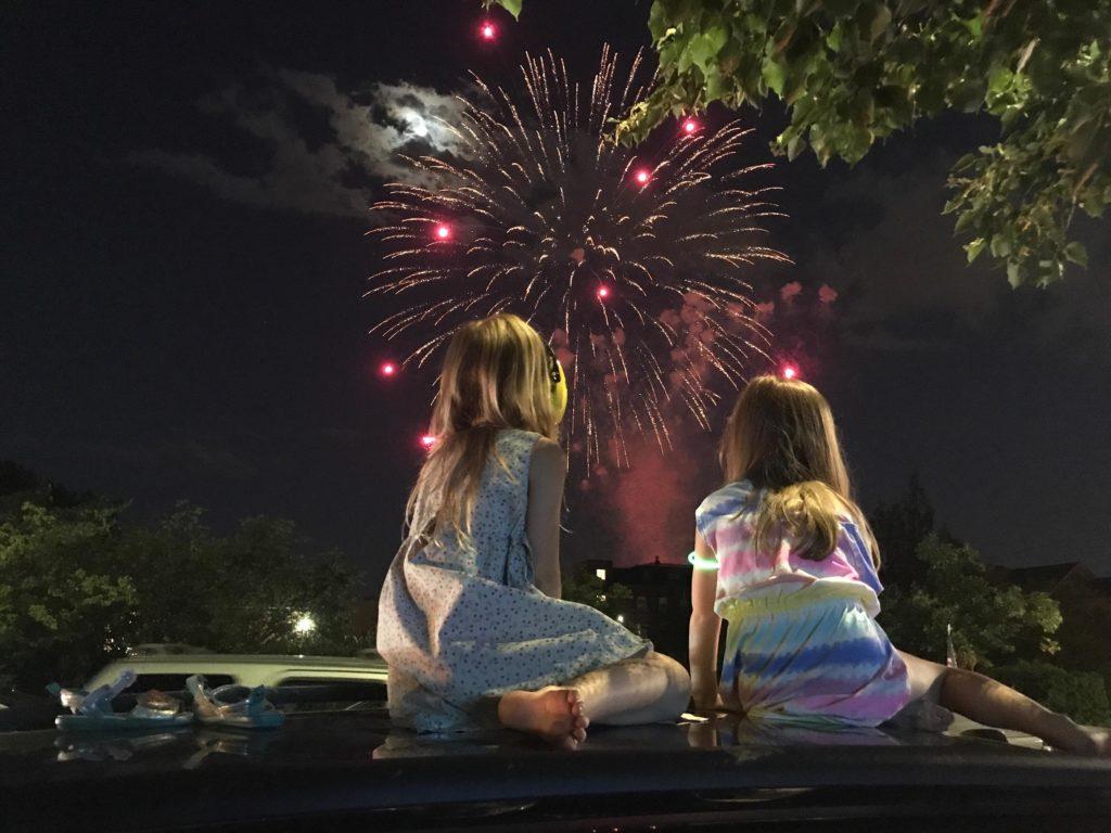 Dzieci kochają fajerwerwerki