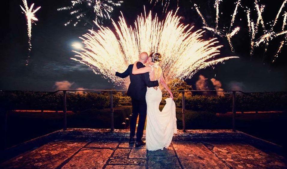 Pirotechnicy.com pokaz sztucznych ogni na wesele
