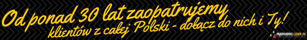 Największa hurotwnia fajerwerek w Polsce - Fajerwerkilider.pl